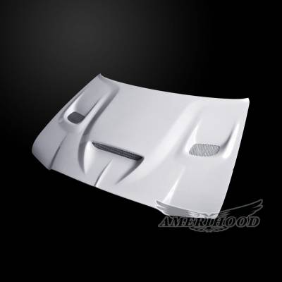 Amerihood - Amerihood Hellcat Functional Ram Air Hood: Chrysler 300 2005 - 2010