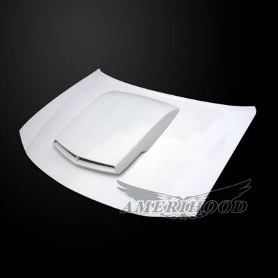 Amerihood - Amerihood T/A Style Functional Ram Air Hood: Dodge Charger 2006 - 2010