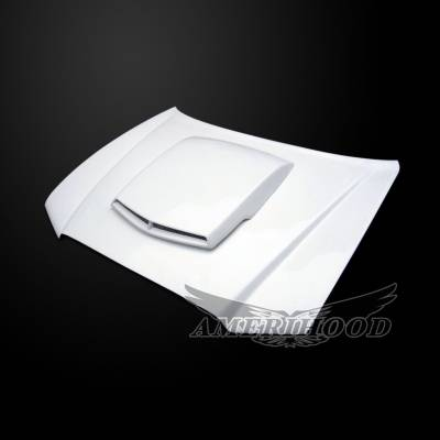 Amerihood - Amerihood T/A Style Functional Ram Air Hood: Dodge Charger 2011 - 2014