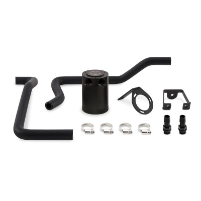 American Car Craft - Mishimoto Direct Fit Oil Catch Can: 300C / Charger / Challenger 6.4L SRT8 2012 - 2014