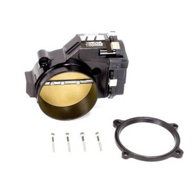BBK Performance - BBK Performance 100mm Hellcat Throttle Body: Dodge Challenger / Charger 6.2L SRT Hellcat  / Jeep Trackhawk 2015 - 2021