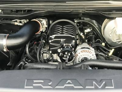 Whipple Superchargers - Whipple Supercharger Kit: Dodge Ram 5.7L Hemi 2019 (1500 NON E-Torque Only)