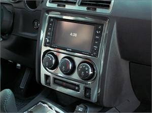 American Car Craft - American Car Craft Brushed A/C Control Trim Plate: Dodge Challenger R/T SRT8 2008 - 2014