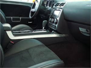American Car Craft - American Car Craft Brushed Center Dash Trim Plate: Dodge Challenger R/T SRT8 2008 - 2014