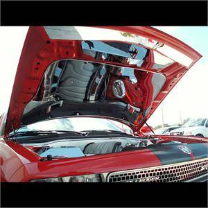 American Car Craft - American Car Craft Polished Hood Panel: Dodge Challenger SRT8 2008 - 2014