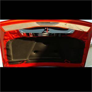 American Car Craft - American Car Craft Polished Upper Hood Cap: Dodge Challenger 2008 - 2014