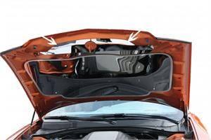 American Car Craft - American Car Craft Polished Upper Hood Cap: Dodge Charger R/T 2011 - 2014