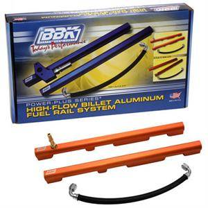 BBK Performance - BBK Performance High Flow Fuel Rails: Chrysler 300C / Dodge Challenger / Charger & Magnum 2005 - 2019 (5.7L Hemi & 6.1L/6.4L SRT8)