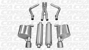 Corsa - Corsa Sport Cat-Back Exhaust: Chrysler 300C 5.7L Hemi 2011 - 2014