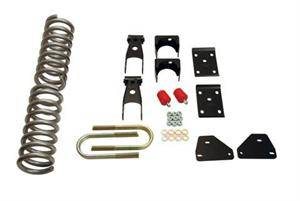 Belltech - Belltech Lowering Kit W/O Shocks: Dodge Ram (Regular & Crew Cab) 2006 - 2008