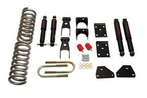 Belltech - Belltech Lowering Kit With ND Shocks: Dodge Ram (Regular & Crew Cab) 2006 - 2008