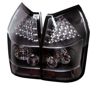 Spyder - Spyder Black LED Tail Lights: Dodge Magnum 2005 - 2008