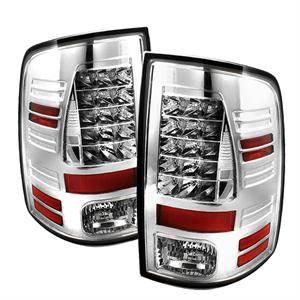 Spyder - Spyder Chrome LED Tail Lights: Dodge Ram 2009 - 2012