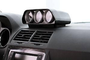 Autometer - Autometer Triple Dash Gauge Pod: Dodge Challenger 2008 - 2018