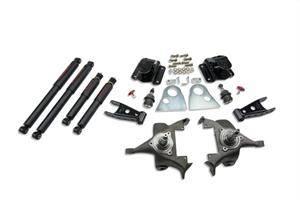 Belltech - Belltech Lowering Kit With ND Shocks: Dodge Ram V8 (Regular Cab Auto Trans) 1994 - 1999