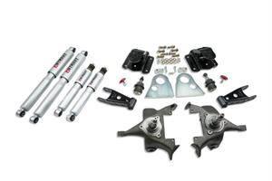 Belltech - Belltech Lowering Kit With SP Shocks: Dodge Ram V8 (Regular Cab Auto Trans) 1994 - 1999