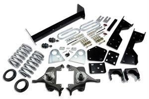 "Belltech - Belltech Lowering Kit 4"" or 5"" F 6"" R drop W/O Shocks: Dodge Ram V8 (Regular Cab Auto Trans) 1994 - 1999"