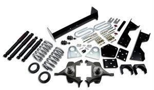 "Belltech - Belltech Lowering Kit 4"" or 5"" F 6"" R drop With ND Shocks: Dodge Ram V8 (Regular Cab Auto Trans) 1994 - 1999"
