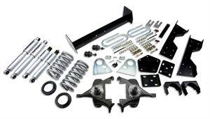 "Belltech - Belltech Lowering Kit 4"" or 5"" F 6"" R drop With SP Shocks: Dodge Ram V8 (Regular Cab Auto Trans) 1994 - 1999"