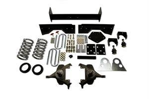 "Belltech - Belltech Lowering Kit 4"" Or 5"" F 6"" R drop W/O Shocks: Dodge Ram V8 (Extended Cab Auto Trans) 1994 - 1999"