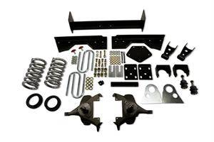 "Belltech - Belltech Lowering Kit 4"" Or 5"" F 6"" Or 7"" R drop W/O Shocks: Dodge Ram V8 (Extended Cab Auto Trans) 1994 - 1999"