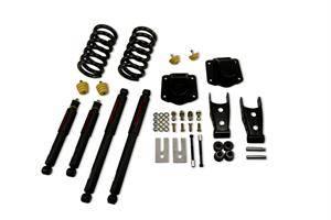"Belltech - Belltech Lowering Kit 3"" F 4"" R drop With ND Shocks: Dodge Ram 2500 (V10 & Diesel) 1994 - 2002"