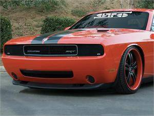 GTS - GT Styling Smoke Headlight Covers: Dodge Challenger 2008 - 2014