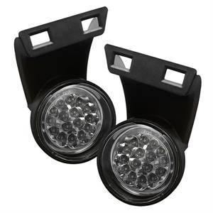 Spyder - Spyder LED Fog Lights (Clear): Dodge Ram 1994 - 2001