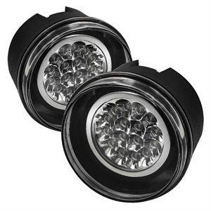 Spyder - Spyder LED Fog Lights (Clear): Jeep Grand Cherokee 2005 - 2009