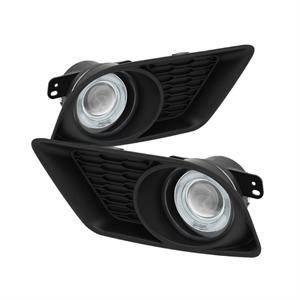Spyder - Spyder Projector Fog Lights (Clear): Dodge Charger 2011 - 2014