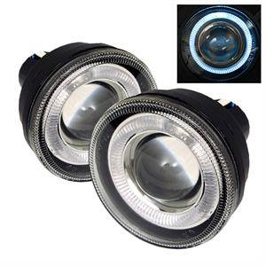 Spyder - Spyder Halo Projector Fog Lights (Clear): Dodge Dakota / Durango 2001 - 2004