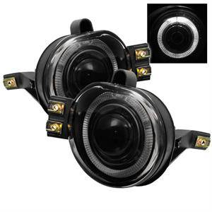 Spyder - Spyder Halo Projector Style Fog Lights (Smoke): Dodge Ram 2002 - 2006
