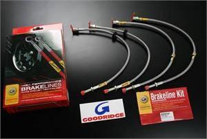 Goodridge - Goodridge G-Stop Brake Line Kit: 300 / Challenger / Charger / Magnum (Exc. SRT8) 2005 - 2012