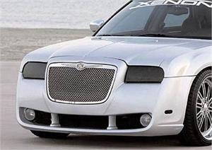 GTS - GT Styling Smoke Headlight Covers: Chrysler 300 2005 - 2010