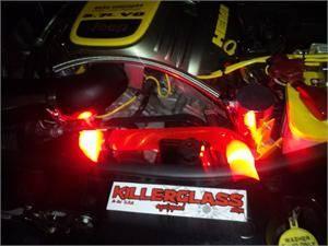 KillerGlass - Killerglass Upper Radiator Hose: Jeep Commander / Grand Cherokee 2005 - 2010 (V8 Only)