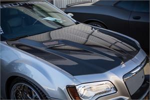 TruCarbon - TruCarbon A58 Carbon Fiber Hood: Chrysler 300 / 300C 2011 - 2020