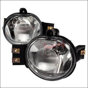 Spec D - Spec D Fog Lights (Clear): Dodge Ram 2002 - 2008