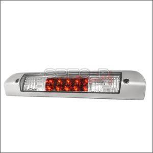 Spec D - Spec D LED Third Brake Light (Chrome): Dodge Ram 2002 - 2008