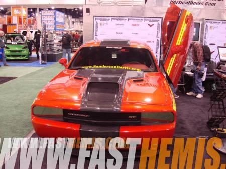 Vertical Doors - Vertical Doors: Dodge Challenger 2008 - 2020 (All Models)
