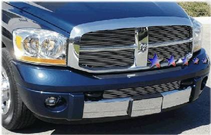 APS - APS Stainless Billet Grille: Dodge Ram 2006 - 2007