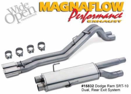 Magnaflow - Magnaflow Dual Exhaust System: Dodge Ram SRT10 2004 - 2005