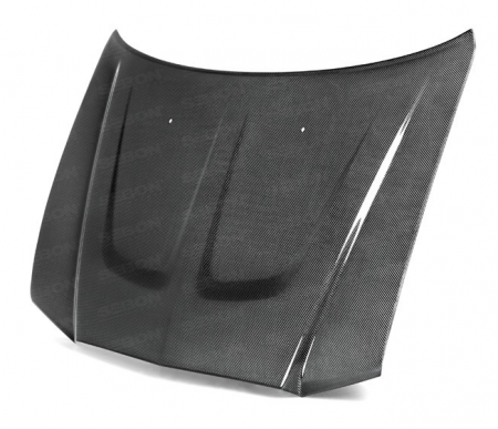 Anderson Composites - Anderson Composites OEM Carbon Fiber Hood: Dodge Charger 2011 - 2014