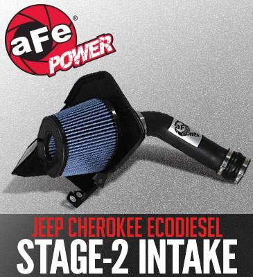 AFE Power - AFE Cold Air Intake: Jeep Cherokee EcoDiesel 3.0L V6 2014 - 2018