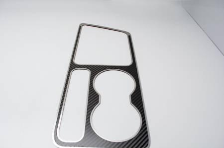 American Car Craft - American Car Craft Carbon Fiber Outer Shift Plate: Dodge Challenger R/T SRT8 2008 - 2014
