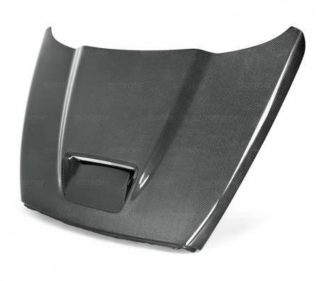Anderson Composites - Anderson Composites SRT10 Carbon Fiber Hood: Dodge Ram 2002 - 2008