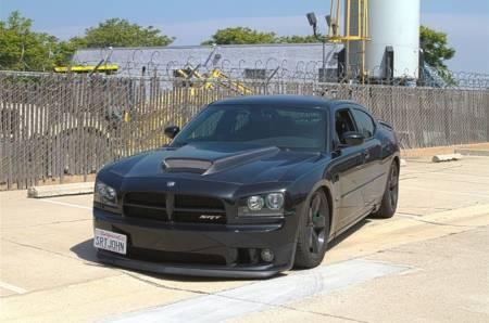 TruCarbon - TruCarbon A50 Carbon Fiber Hood: Dodge Charger 2006 - 2010