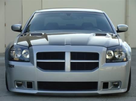 TruCarbon - TruCarbon A58 Carbon Fiber Hood: Dodge Magnum 2005 - 2007
