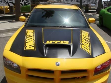 TruFiber - TruFiber A23 Hood: Dodge Charger 2006 - 2010