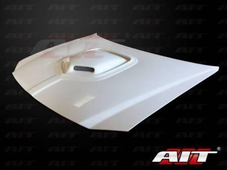 AIT Racing - AIT Racing Shaker Style Functional Ram Air Hood: Dodge Magnum 2005 - 2007
