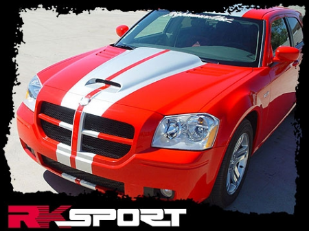 RK Sport - RK Sport Ram Air Hood: Dodge Magnum 2005 - 2007